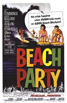 Beach Party poster