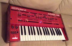 MATRIXSYNTH: SynthSpa Custom Red Roland Junior 106