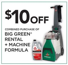 BISSELL Big Green Vs. The Rug Doctor   Which Carpet Cleaner Is Better? + A  Giveaway