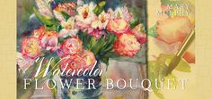 This a an online course on Craftsy - got to it through a link on Michael's.  $39.99   Learn How to Paint Watercolor Flowers in: Watercolor Flower Bouquet