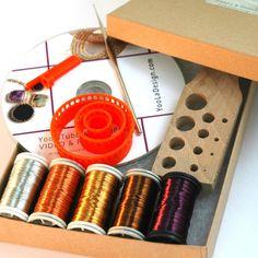 Häkelanleitungen - DIY KIT SAPHIR 2 Videos,Anleitungen und Material - ein Designerstück von YoolaDesign bei DaWanda