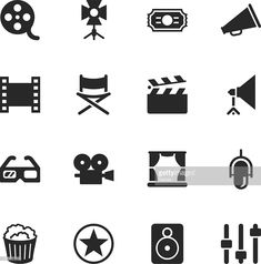 View top-quality illustrations of Film Industry Silhouette Icons. Find premium, high-resolution illustrative art at Getty Images. Super 8 Film, Industry Logo, Film Industry, Bullet Journal Films, Seven Film, La Haine Film, A Serbian Film, Love Short Film, Film Texture