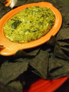 Dairy-Free, Egg-Free Spinach and Artichoke Dip with a Soy-Free option (use Soy-Free Vegenaise) via PETA