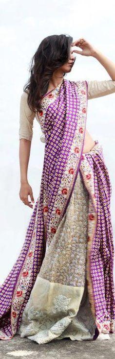 Gaurang Shah Saree - original pin by @webjournal