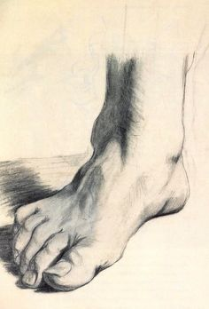 Salvador Dali, Study of a Foot, 1922