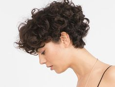 Short Curly Cuts, Short Curly Haircuts, Short Curls, Messy Hairstyles, Curly Pixie, Curly Hair Styles, Curly Hair Tips, Wavy Hair, Androgynous Hair