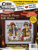 """cross country stitching """"February 2007"""""""