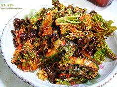 맛있는 반찬- 입맛 돋궈주는 상추 겉절이 – 레시피 | Daum 요리