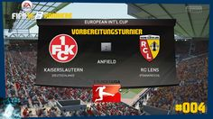 "Let's Play FIFA 16 Trainerkarriere #004 ""FCK vs RC Lens"" [XBOX One Gamep..."