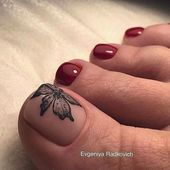 New nails toe simple nailart 21 ideas 51 adorable toe nail designs for this summer adorable designs nail summer toe Pretty Toe Nails, Cute Toe Nails, Gorgeous Nails, My Nails, Toe Nail Color, Toe Nail Art, Summer Toe Nails, Manicure E Pedicure, Pedicures