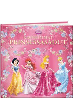 Kauneimmat prinsessasadut -kokoelma sisältää neljä klassikkosatua ihanista prinsessoista. Mukana Tuhkimo, Prinsessa Ruusunen, Lumikki ja Ariel.