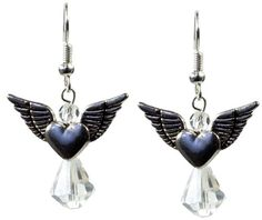 Angel Earrings - This Prima Bead project pattern is perfect for Religious. [$0]