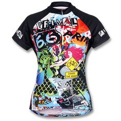 Primal Wear Women's Tagged Cycling Jersey Top