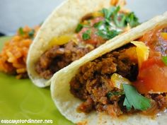 My Favorite Ground Beef Tacos From Paula Deen