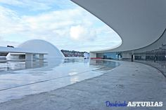 Ex-Centro internacional Cultural Niemeyer en #Aviles #Asturias