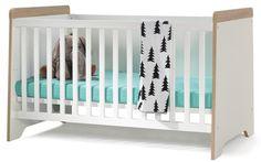 Babybett Gitterbett Baby Bett Julius weiß 70x140 cm zum Kinderbett umbaubar | eBay