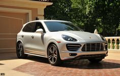 Porsche Cayenne Twin Turbo. If I ever HAD to drive a dad car, it be this one.