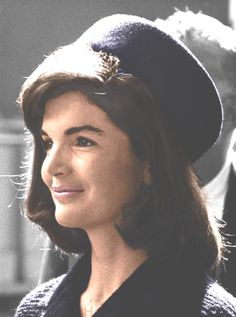 "Jacqueline Kennedy Onassis, (née Jacqueline Lee ""Jackie"" Bouvier;  July 28, 1929 – May 19, 1994), ❤❤❤❤( She was a fashion icon; her famous ensemble of pink Chanel suit and matching pillbox hat has become symbolic of her husband's assassination and one of the lasting images of the 1960s) http://en.wikipedia.org/wiki/Pillbox_hat    http://en.wikipedia.org/wiki/Jacqueline_Kennedy_Onassis"