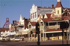 Kalgoorlie, W. One of the biggest gold mines in the world is in Kalgoorlie Perth Western Australia, South Australia, Australia Travel, Terra Australis, Largest Countries, Tasmania, Bouldering, Westerns, Tourism