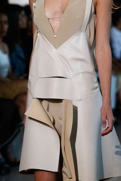 Detail at Calvin Klein Spring 2016 Ready to Wear, New York Fashion Wee