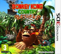 Donkey Kong Country Returns 3D 3DS CIA (USA) - http://www.ziperto.com/donkey-kong-country-returns-3d-3ds-cia-usa-2/
