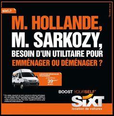 Sixt aide Sarkozy à déménager !