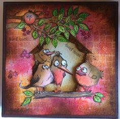 My Creative Spirit - Bird Crazy Box It Kit by Clare at My Creative Spirit Tim…