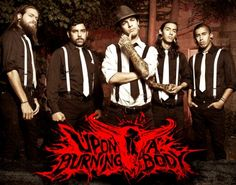 Upon A Burning Body -Top Favorite Bands