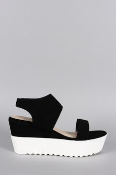 409e2c01b Bamboo Nubuck Perforated Flatform Wedge Indie Outfits