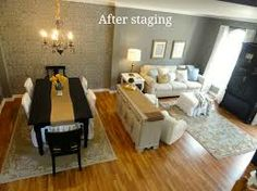 living room into craft room - Google Search