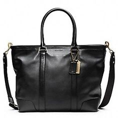 Coach LEATHER BUSINESS TOTE - a classic!