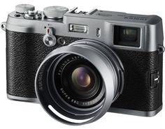 В стиле ретро. Обзор компактной камеры Fujifilm FinePix X100