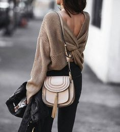Twisted back sweater                                                                                                                                                                                                                                                                                                                                                                                                                                                                                                                                                             Instagram