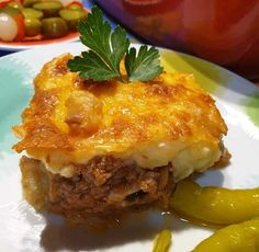 Greek Recipes, Lasagna, Cooking, Ethnic Recipes, Food, Kitchen, Essen, Greek Food Recipes, Meals