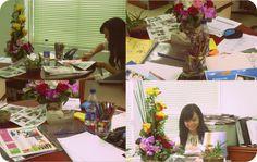 Se acerca la edición de aniversario de nuestra revista, nuestra querida editora Helen prepara los detalles para la gran reunión.