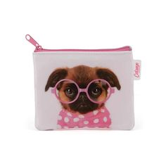 Catseye GLP6CP Glasses Pooch Coin Purse Pink