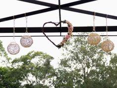 29 ideias de decorações suspensas para o seu casamento