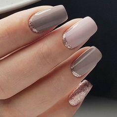 nail art designs for winter * nail art designs + nail art + nail art videos + nail art designs for spring + nail art designs easy + nail art designs for winter + nail art diy + nail art winter Classy Nail Art, Elegant Nail Art, Elegant Nail Designs, Cute Nail Art, Nail Art Diy, Beautiful Nail Art, Diy Nails, Best Nail Art, Classy Gel Nails