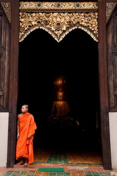 Buddha and the Monk