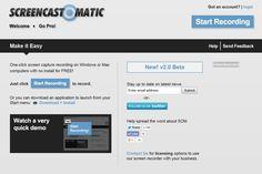 http://www.screencast-o-matic.com/  free screencast site