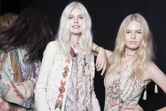 Backstage Pass: Milan Fashion Week Spring 2015 - Backstage at Etro Spring 2015