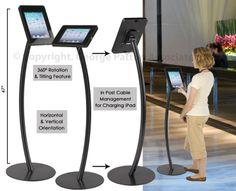 Bidding Kiosk for non-smartphone users