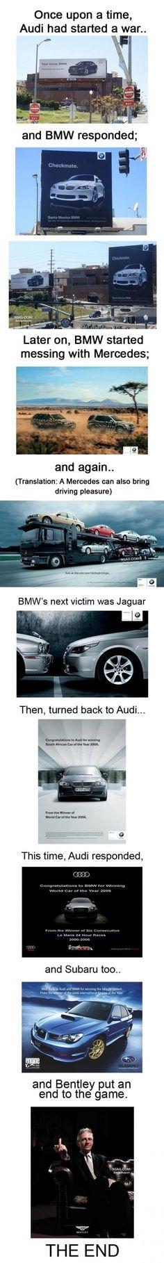 Battle Of #automotive brands
