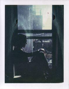 Ivy, 2013   #film #polaroid #expiredfilm #window #light
