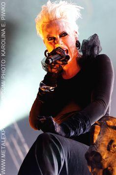 "Agnete Kjølsrud - From the Dimmu Borgir concert in Oslo. Guest vocals on ""Gateways"" A must-hear track."