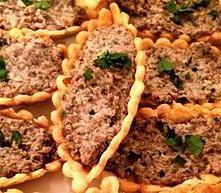 Les COOK'ettes Catering |  Mushroom Tartlets