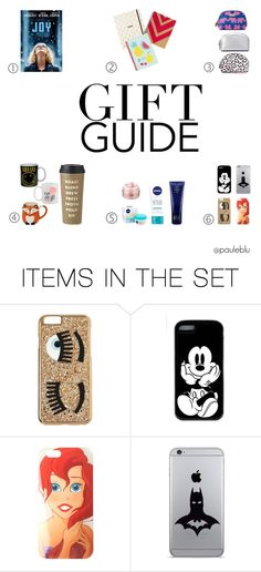 """""""gift guide"""" by pauleblu on Polyvore featuring arte"""