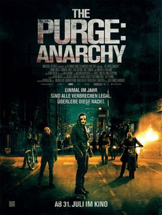 Poster: The Purge 2: Anarchy (Film) #ThePurge #ThePurge2 #Purge2 #Purge