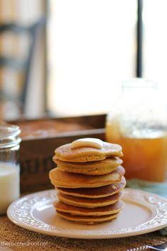 Gluten free cornbread pancakes