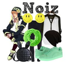 """""""Noiz"""" by katwhisky ❤ liked on Polyvore featuring Paige Denim, PAM, Puma and Lava"""